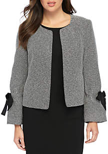 Tweed Kiss Jacket with Arm Detailing