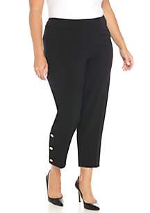 Plus Size Stretch Slim Pants