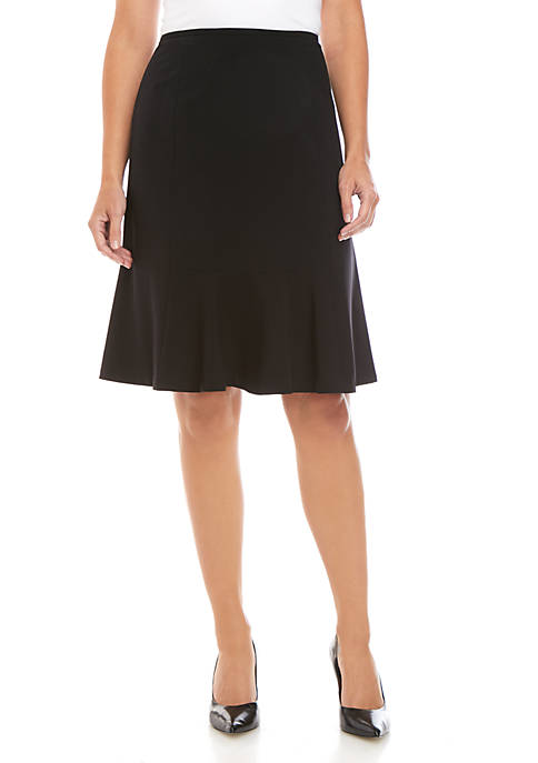 Nine West Flared Hem Skirt