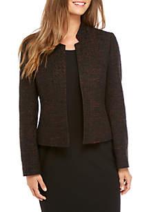 Tweed Kiss Front Jacket