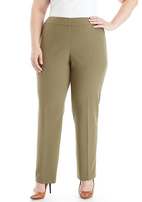 Nine West Plus Size Skinny Stretch Pants