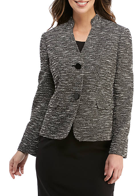 2 Button Knit Jacket