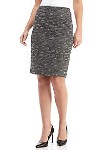 Knit Slim Skirt