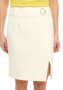 Nine West Skirt with Waist Detailing