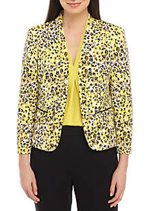 Nine West Leopard Print Jacket