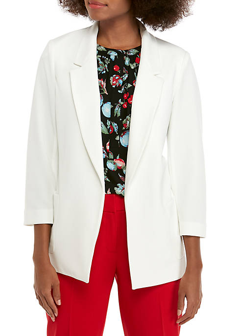 Nine West Drapey Crepe Jacket