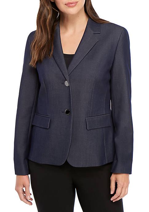 2 Button Denim Jacket