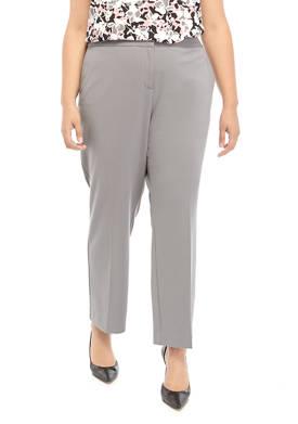 Plus Size Crepe Pants
