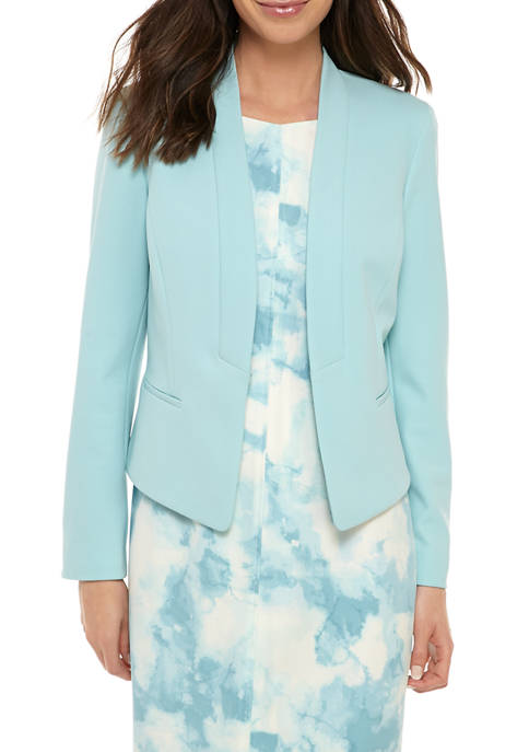 Nine West Womens Kissing Front Jacket