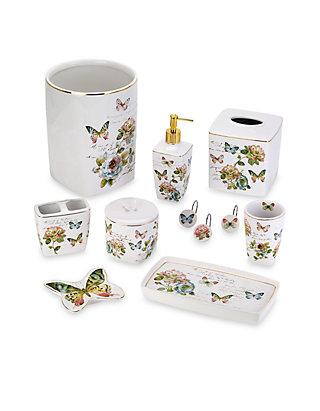 Avanti Erfly Garden Bath Collection, Avanti Bathroom Sets