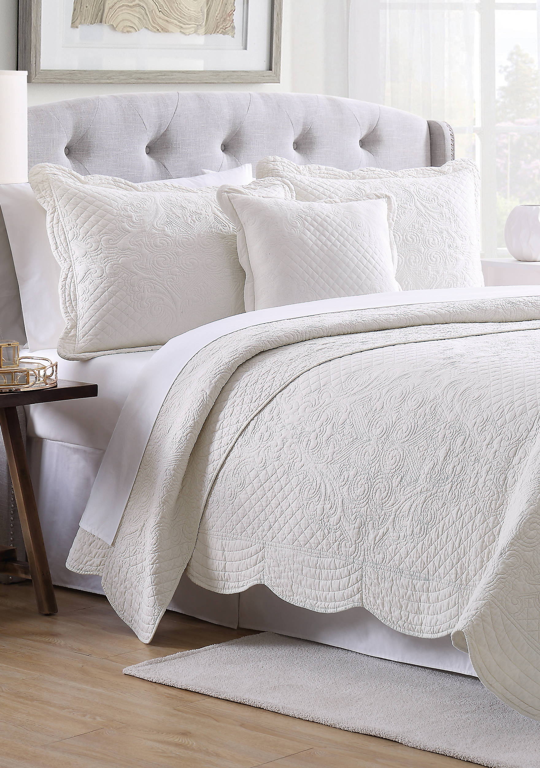 scalloped chenillescallopedcomfortersetbyperihome cfm cover scallop home by set hayneedle comforter peri chenille product master duvet