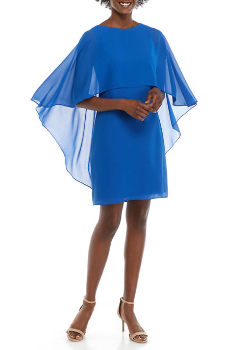 Womens Capelet Float Dress
