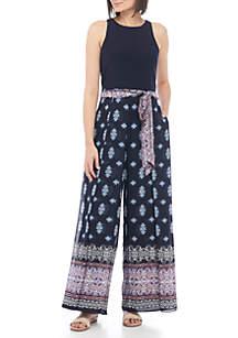 ITY Chiffon Printed Jumpsuit
