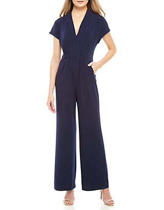 5fed949d8f8 Vince Camuto Short Sleeve Jumpsuit ...