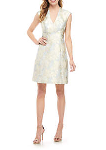 8c5d4d89630 Vince Camuto Short Sleeve V Neck Layered Tee · Vince Camuto Jacquard Fit  and Flare Dress