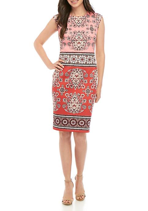Scuba Sheath Dress
