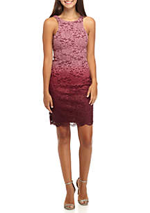 Sleeveless Velvet Sheath Dress with Back Cutout