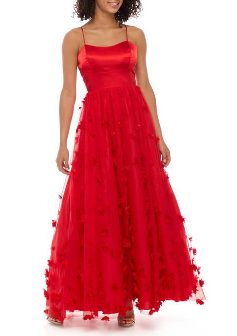 3D Appliqué Gown