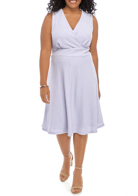 Plus Size Pointelle Dress