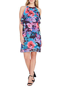 Popover Floral Dress