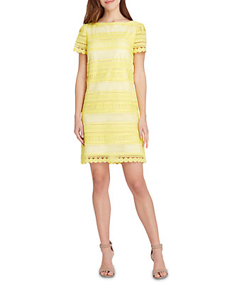 0ba0c6d4 Tahari ASL. Tahari ASL Short Sleeve Scallop Edge Chemical Lace Sheath Dress