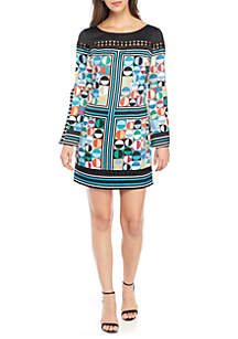 Domino Dots Shift Dress