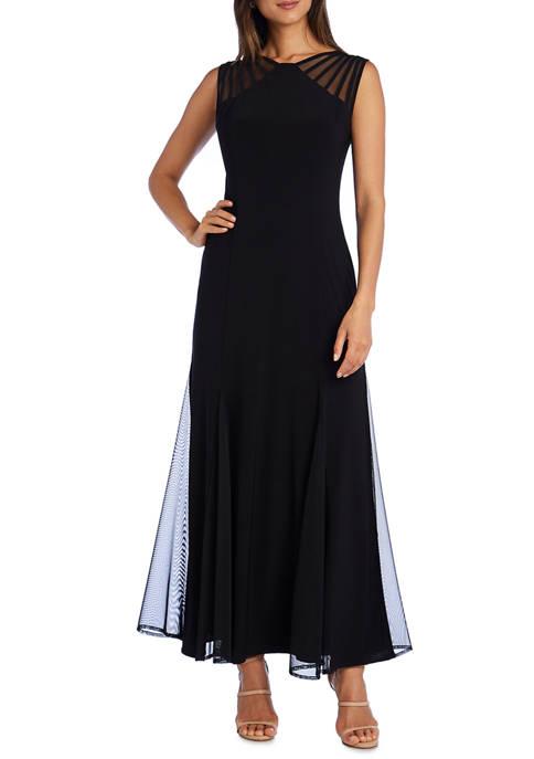 RM Richards Petite Long Jersey Dress