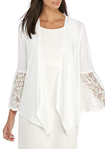 Lace Bell Sleeve Topper