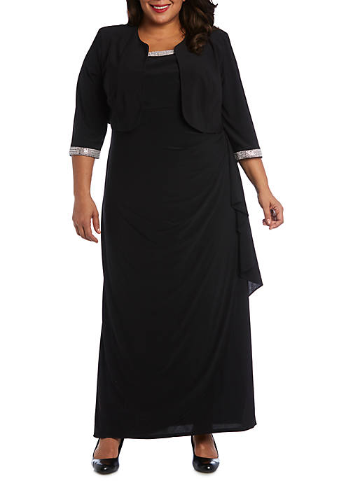 R & M Richards Plus Size 2 Piece