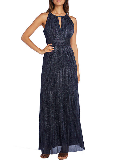 R & M Richards Long Tiered Metallic Halter