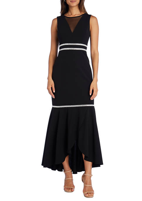 RM Richards Petite Flounce Dress