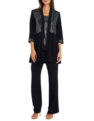 M, Black Style /& Co Women/'s Smooth Lining Metallic Chevron Pattern Belt