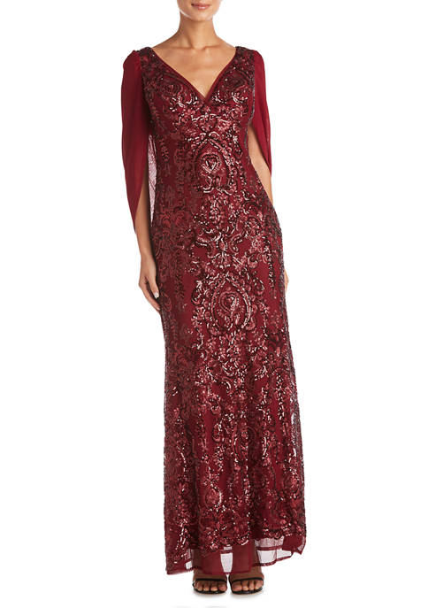 R & M Richards Womens Lace Off the