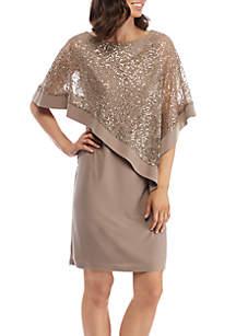 Lace Poncho Dress