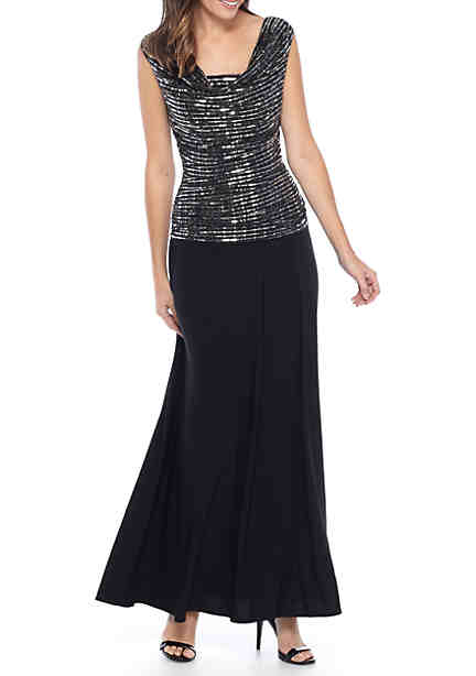 Dress for Women, Evening Cocktail Party On Sale, Black, Silk, 2017, 10 12 14 Twin-Set