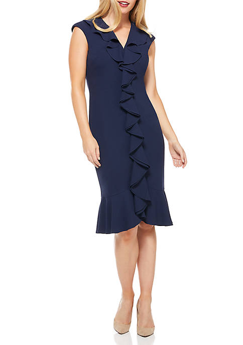 Cascade Flounce Dress