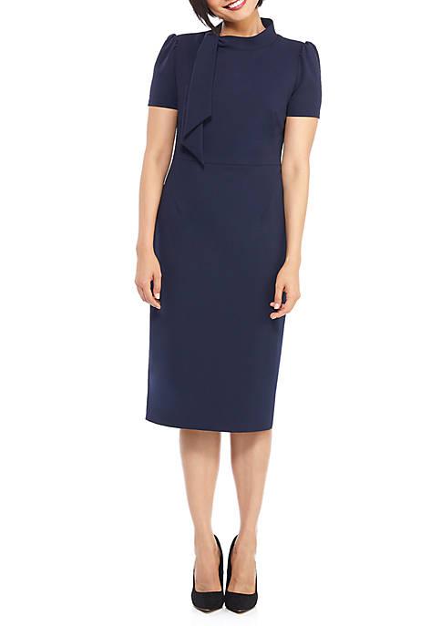 Tie Midi Dress