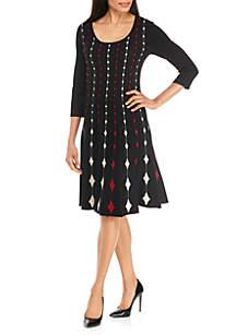 Queen of Spades Sweater Dress