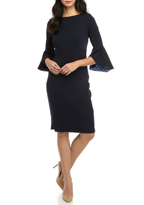 Womens Inner Beauty Crepe Dress