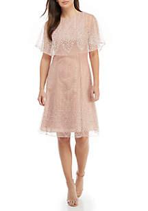 Popover Glitter Dress