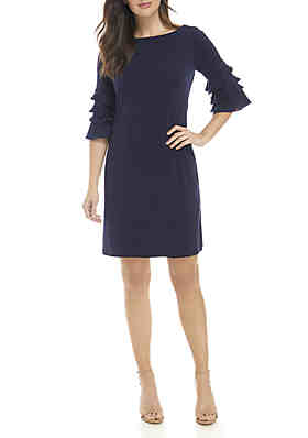7840563335d Gabby Skye Ruffle Sleeve Gigi Sheath Dress ...