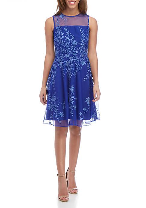 GLAMOUR BY Gabriella Skye Sleeveless Party Dress