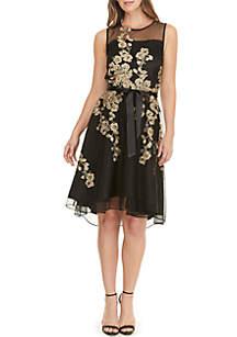 GLAMOUR BY Gabriella Skye Sleeveless Short Party Dress