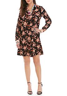 944781ff702 ... Spense Mixed Print Shirt Dress
