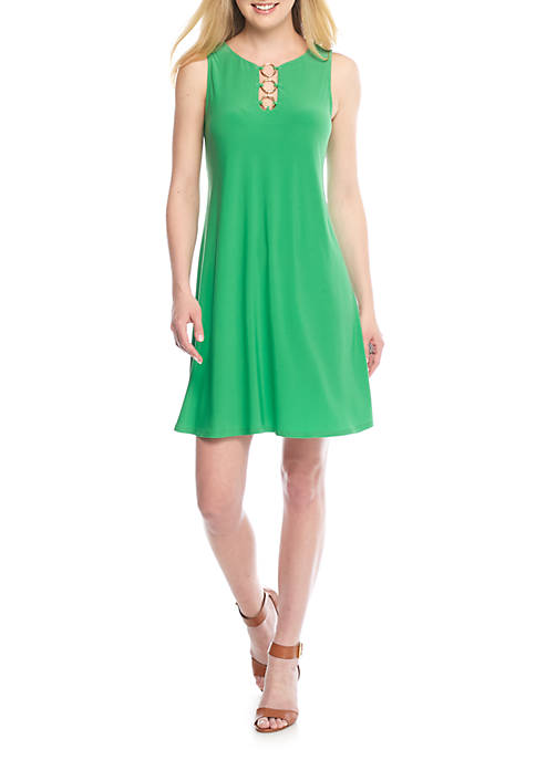 IVY ROAD Jersey Trapeze Dress