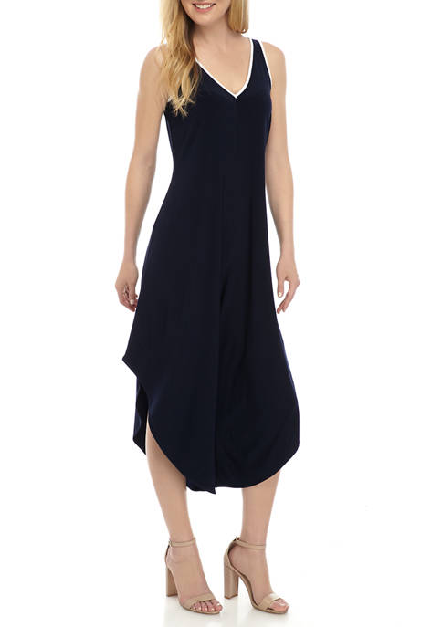 IVY ROAD Womens Piped Jumpsuit