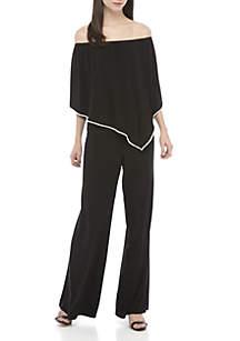 Embellished Popover Jumpsuit