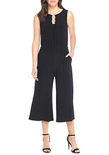 Ring Solid Jumpsuit