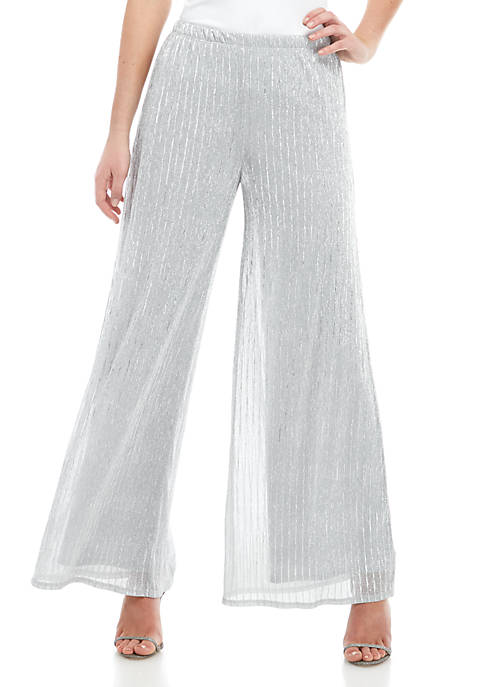 Lurex® Shine Stripe Pants