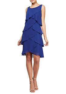 Tiered A-line Dress